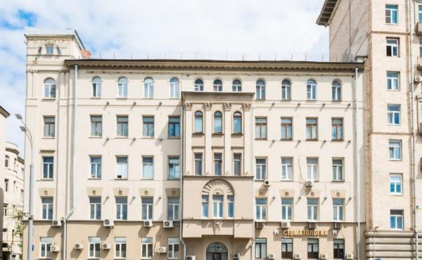 Торговая площадь на Садово-Черногрязской улице