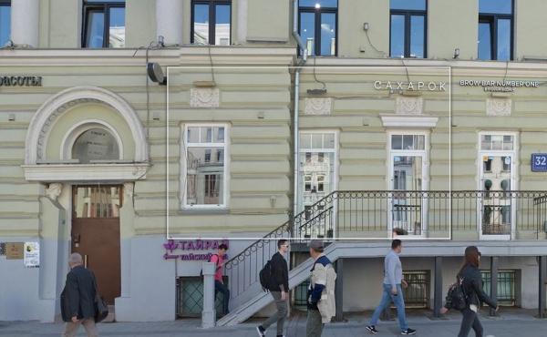 Торговая площадь на Садово-Кудринской улице